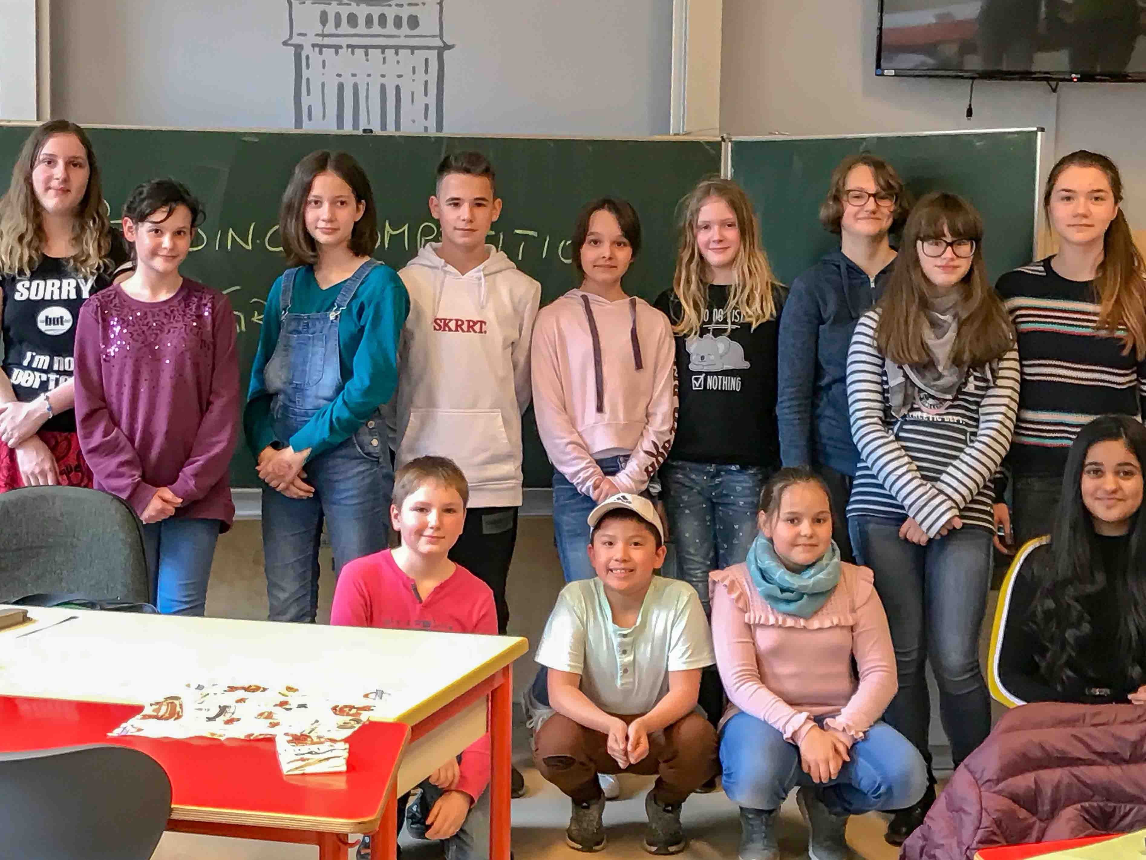 English Reading Competition 2019 der Klassenstufen 5 – 7